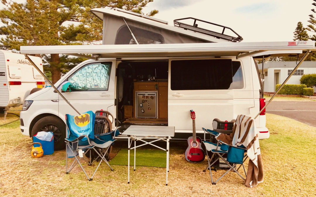 How to choose the most kid friendly site at a caravan park