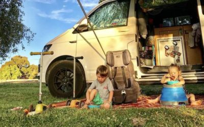 Quick and easy camping meals for kids