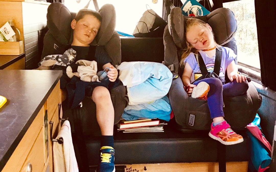 Super handy gear for road trips with kids