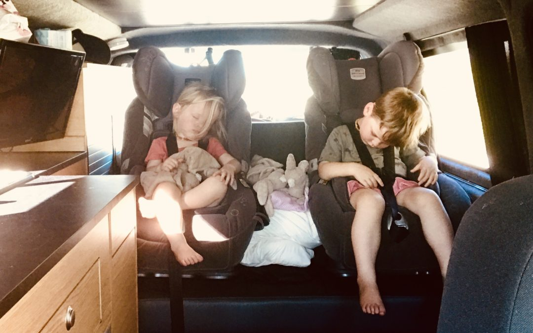 The car seat head flop & how we fixed it, eventually…